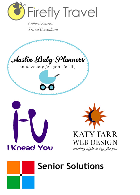 Logos designed by Katy Farr Web Design